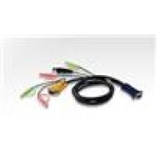 Aten KVM USB AllInOne Audio CB 3in1 SPHD(Keyboard/Mouse/Video