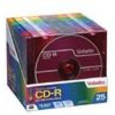 Verbatim CD-R 700MB 25PK Slim