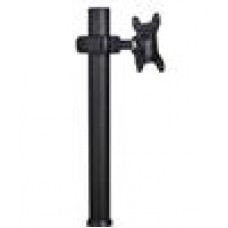 Atdec Display Donut Pole 750mm Pole, BLACK, one donut