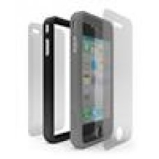 Cygnett Snaps Duo Grey & Black Silicon Ring For Iphone4 (LS)