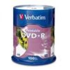 Verbatim DVD+R 4.7GB 16X 100Pk