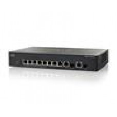 Cisco 8 x 10/100 PoE + 2 x combo Gigabit SFP L3 Managed Switch (LS)
