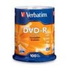 Verbatim DVD-R 4.7GB 16x 100Pk Advanced AZO, Spindle