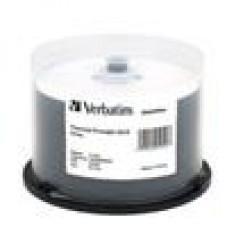 Verbatim CD-R 700MB 52x 50Pk White Thermal, Spindle (LS)