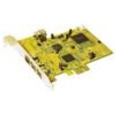 Sunix PCIe DualFirewire Card 2 x Int 1394B, 2 x 1394A