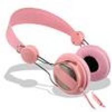Connectland Stereo Headphone Headset Pink Trendy Series SE-5017