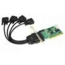 Condor 4 Port Serial Card PCI Standard profile bracket