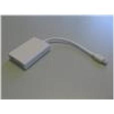 8ware Mini Active DisplayPort To DVI Adapter, White