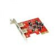 Condor PCIE Firewire Card 1394a 6 Pin X2 Low Profile