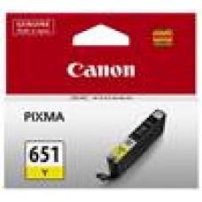 Canon CLI651Y Yellow Cartridge MG5460