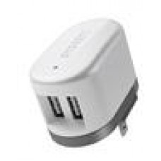 Cygnett PowerBase II Charger 2x USB Charge Port AC Adaptor