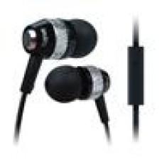 Cygnett Atomic2Headphones In-Ear Style with Mic - Black