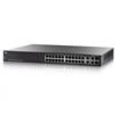 Cisco 26 x 10/100/1000 PoE + 2 x combo Gigabit SFP L3 Managed Switch (375w)