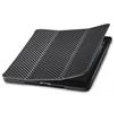 Coolermaster  iPad mini Folio Black, Wakeup, Carbon texture, Wake up and Asleep Function (LS)