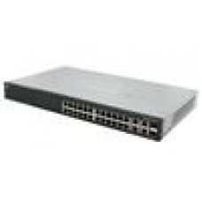 Cisco SF500 24x10/100 Switch Managed/2xSFP/Stackable/RMount