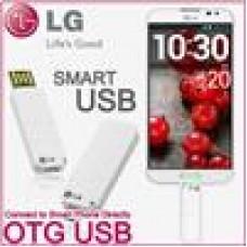 LG 16GB USB OTG Dual Head Flash Drive White for Smartphone Tablet PC