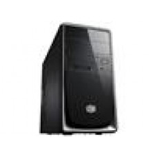 (LS) Coolermaster RC344,Silver,NP 1x USB3.0+USB2.0,mATX, Black&S