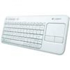 Logitech K400R KB White Trackpad, Wireless, Media Keys (LS)