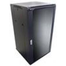 LinkBasic 22RU 800mm Cabinet 4x240v Fans/Glass Door/8pt PDU