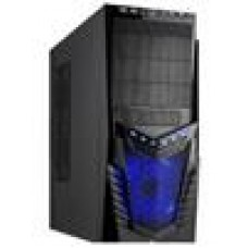 (LS) Casecom KM-9319Case 700W ATX,USB3,Blue Fan,2YR