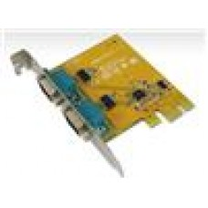 Sunix PCIE 2 Port Serial Card Full Height Expansion RS-232