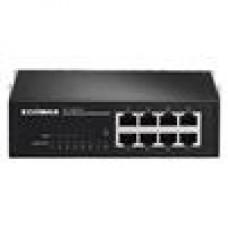 Edimax 8 Pt 10/100 POE Switch 85W, 4X POE/4X 10/100/Desktop (LS)