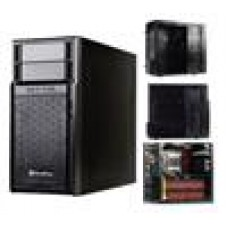 (LS) Silverstone PS08B mATX Case Full Black, USB3.0, 120 Fan