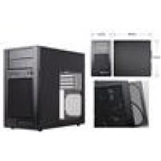 Windowed Silverstone TJ08B EW mATX Case, Aluminum Front Panel, USB3.0 (LS)