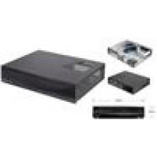 Silverstone ML03B HTPC Case USB3.0, Full Black, mATX M/B