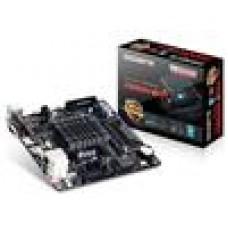 Gigabyte J1800N-D2H MB Built-in Celeron J1800 2.41GHz 2xDDR3 VGA HDMI Realtek GbE LAN PCIEx16 2xSATA3 mSATA USB3 6xUSB2 Mini-ITX (LS)