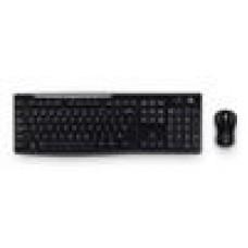 Logitech MK270R Wireless Keyboard and Mouse Combo 2.4GHz Wireless Compact Long Battery Life 8 Shortcut keys - 920-006314