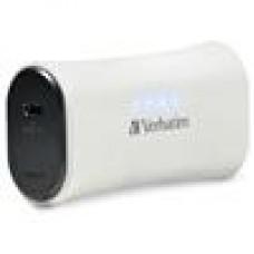 Verbatim USB 2200mah Powerbank- White