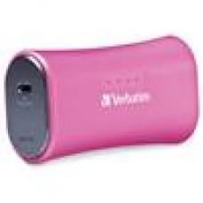 Verbatim USB 2200mah Powerbank- Pink