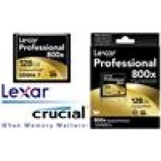 Lexar 800x 128GB CF Card Upto 120MB/s