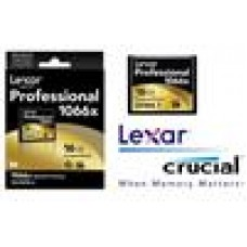 Lexar 1066x 16GB Compact Flash CF Card Upto 160MB/s VPG-65 Standard (LS)