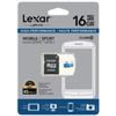 Lexar High-Performance 300x 16GB microSDHC microSDXC UHS-I Card - Upto 45MB/s w/Adapter (LS)