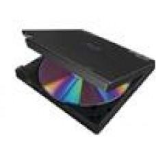 Pioneer BDR-XD05TB 6x Ultra Slim Portable External USB3.0 3D Blu-ray Drive Player Burner Rewriter Super Multi Double-Layer BDRW DVD±RW ~BP50NB40