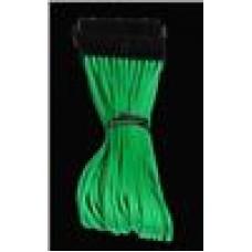 BitFenix 45cm Sleeved ATX Cbl Green 24Pin ATXExtension (LS)