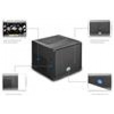 Coolermaster Elite 110 Compact Mini-ITX Case. 2 x USB3.0 Cube Design No PSU