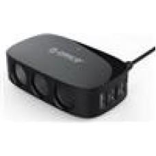 ORICO 4 Port Car USB Charger 2x5V1A/2x5V2.4/Surge Protect