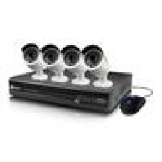 (LS) Swann NVR4-7300 4 Channel 3MP Network Video Recorder & 4 x NHD-815 3MP Cameras