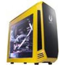 BitFenix Aegis Case w/Display Yellow,  Colour, mATX Case, NO PSU (LS)