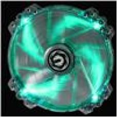 BitFenix Spectre PRO Green LED 20cm Tinted Transparent Frame (LS)