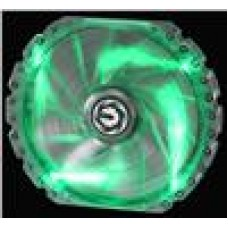 BitFenix Spectre PRO Green LED 23cm Tinted Transparent Frame (LS)