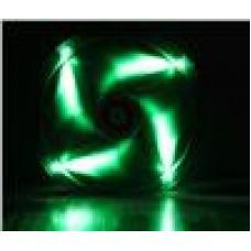 BitFenix Spectre 23cm LED Fan Green  LED w/ Tranparent Frame (LS)