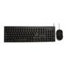 Toshiba USB Keyboard & Mse Combo Pack, Black