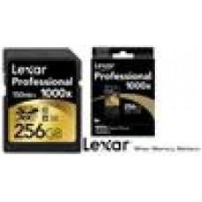 Lexar Professional 1000x 256GB SDHC SDXC UHS-II - Upto 150MB/s