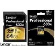 Lexar 633x 64GB CL10 SD Card Upto 95MB/s