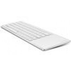 RAPOO E6700 Bluetooth Aluminium Keyboard w/TouchPad White - Stylish,SmartTouch
