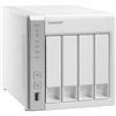 QNAP TS-431P NAS Server, 4-Bay, SATA 6Gb/s,  RAID 0, 1, 5, 6, 10, JBOD, GbE,  iSCSI